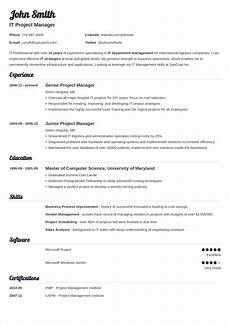 Sample Resume Word 20 Cv Templates For Word Download Now
