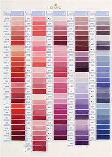 Dmc Chart Dmc Stranded Cotton Colour Chart Shade Card Stitchtastic