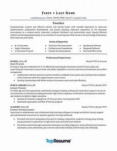 New Teacher Resume Examples Teacher Resume Sample Professional Resume Examples