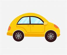 Cartoon Cars Yellow Car Cartoon Car Classic Cars Car Illustration