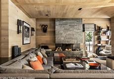 Deco Montagne Design Un Chalet Typique Mais Ultra Design Maison Style