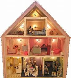 Barbie Doll House With Lights Dollhouse Decorating A Quick Way To Add Lights To Your