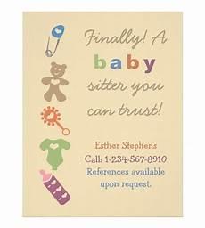 Babysitting Pamphlets 15 Cool Babysitting Flyers 15 Babysitting Flyers