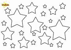 Sterne Malvorlagen Kostenlos Ausmalbild Sterne Kostenlose Malvorlage