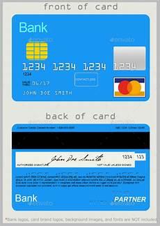 Credit Card Template For Kids 10 Credit Card Designs Free Amp Premium Templates