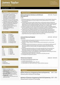Resume Of Electrical Technician Electrical Engineer Resume Samples And Templates Visualcv