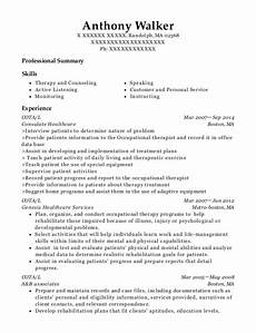 Cota Resume Otsego County Cota Restorative Nursing Resume Sample