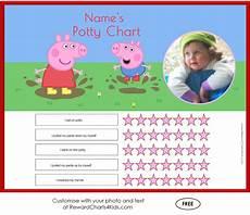 Free Potty Charts Peppa Pig Potty Training Charts