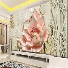 Flower Decoration Ke Wallpaper by Beibehang Photo Wallpaper Relief Magnolia