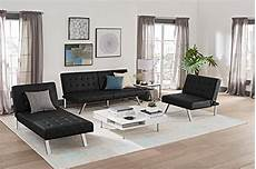 dhp emily futon sofa bed modern convertible with
