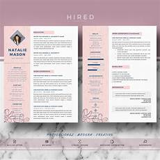 Creative Cv Free Templates Creative Resume Template For Ms Word Quot Natalie Quot Hired