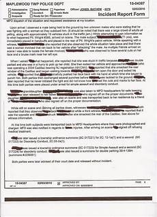 Ovr Incident Report Maplewoodian Com Mms Fight Police Report