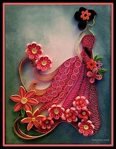Flower Design For Cards 25 Beautiful Quilling Flower Designs And Paper Quilling