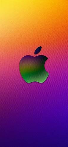 iphone xr wallpaper apple logo iphonex colorful apple logo iphonexwallpapers