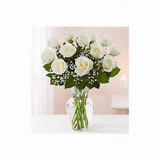 Classic Floral Design Waukee Ia Rose Elegance Premium Long Stem White Roses In A Iowa