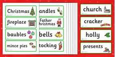 Word Christmas Card Christmas Topic Word Cards Christmas Word Card