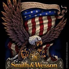 Allen Eagle Designs Eagle T Shirt Design For Smith Amp Wesson 2 Flyland