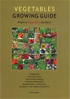 Vegetable Growing Guides Vegetables Growing Guide Stefan Mager Laminated Chart