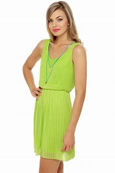 lime green clothes pretty lime green dress pleated dress mint dress 45 00
