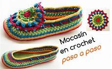 crochet paso a paso aprende a tejer mocasines en crochet paso a paso