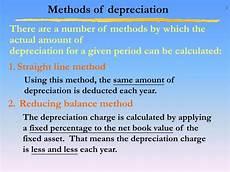Three Methods Of Depreciation Ppt Depreciation 折舊 Powerpoint Presentation Id 916581