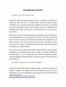 Formato De Informe Escrito Como Elaborar Un Informe De Gesti 211 N