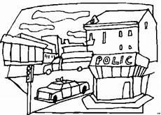ausmalbilder polizeistation 92 malvorlage polizei