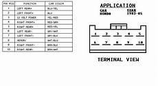 2003 honda accord wiring diagram for the radio