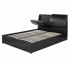 Bed Headrest King Size Leather Bed Base With Headrest Drawers Quality