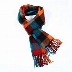 scarf plaid solid check patterns available in a