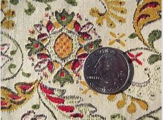 40s vintage cotton quilting fabric, Early American style