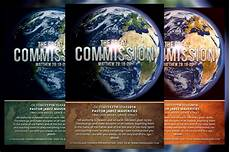 Great Flyers The Great Commission Church Flyer Flyer Templates