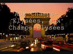 champ elysees için resim sonucu