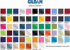 Gildan Shirt Color Chart Gildan 174 Ultra Cotton Class Fit T Shirt B Amp H Canvas