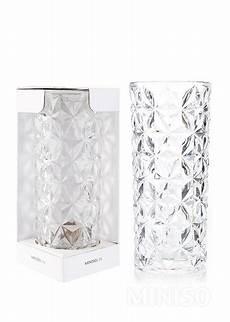 pattern vase transparent