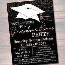 Graduation Celebration Invitations Editable Graduation Party Invitation High School