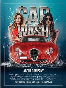 Car Wash Pictures For Flyer Free Car Wash Flyer Template Psdflyer