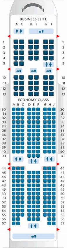 Delta Airlines Seating Chart Airline Seating Charts Boeing Airbus Aircraft Seat Maps