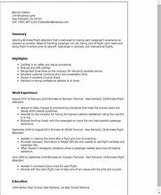 Cv Template For Cabin Crew Awesome Cv Template For Cabin Crew Collection Dengan Gambar