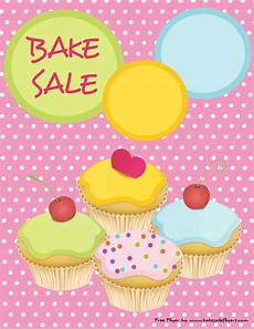 Bake Sale Poster Templates Free Printable Bake Sale Flyer Cute Pink With Cupcakes Bake