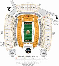 Pittsburgh Steelers Stadium Seating Chart Pittsburgh Steelers Collecting Guide Jerseys Tickets