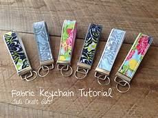 fabric key chain tutorial key fobs diy diy keychain