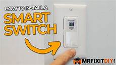 Installing A Smart Light Switch How To Install A Smart Light Switch Diy Electrical Youtube