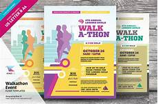 Walk A Thon Posters Walkathon Event Flyer Templates By Kinzi21 Graphicriver