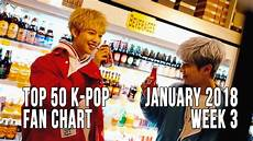 2018 Pop Charts Top 50 K Pop Songs Chart January 2018 Week 3 Fan Chart