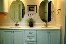 One Light Fixture Over Two Mirrors Master Bath Remodel Redmond Done To Spec Done To Spec
