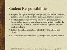 Student Rights And Responsibilities Student Amp Parental Rights In Public School Education
