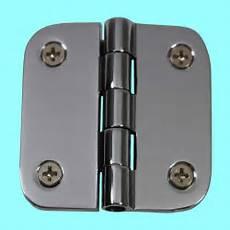 cabinet hinges bright chrome radius 2 quot x 2 quot
