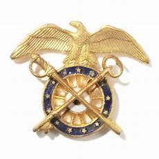 Quartermaster Army Us Army Quartermaster Corps Officer Insignia Pin