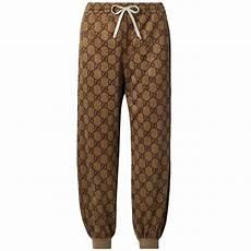 Gucci Pants Size Chart Gucci Logo Printed Track Pants Size 8 M 29 30 Tradesy